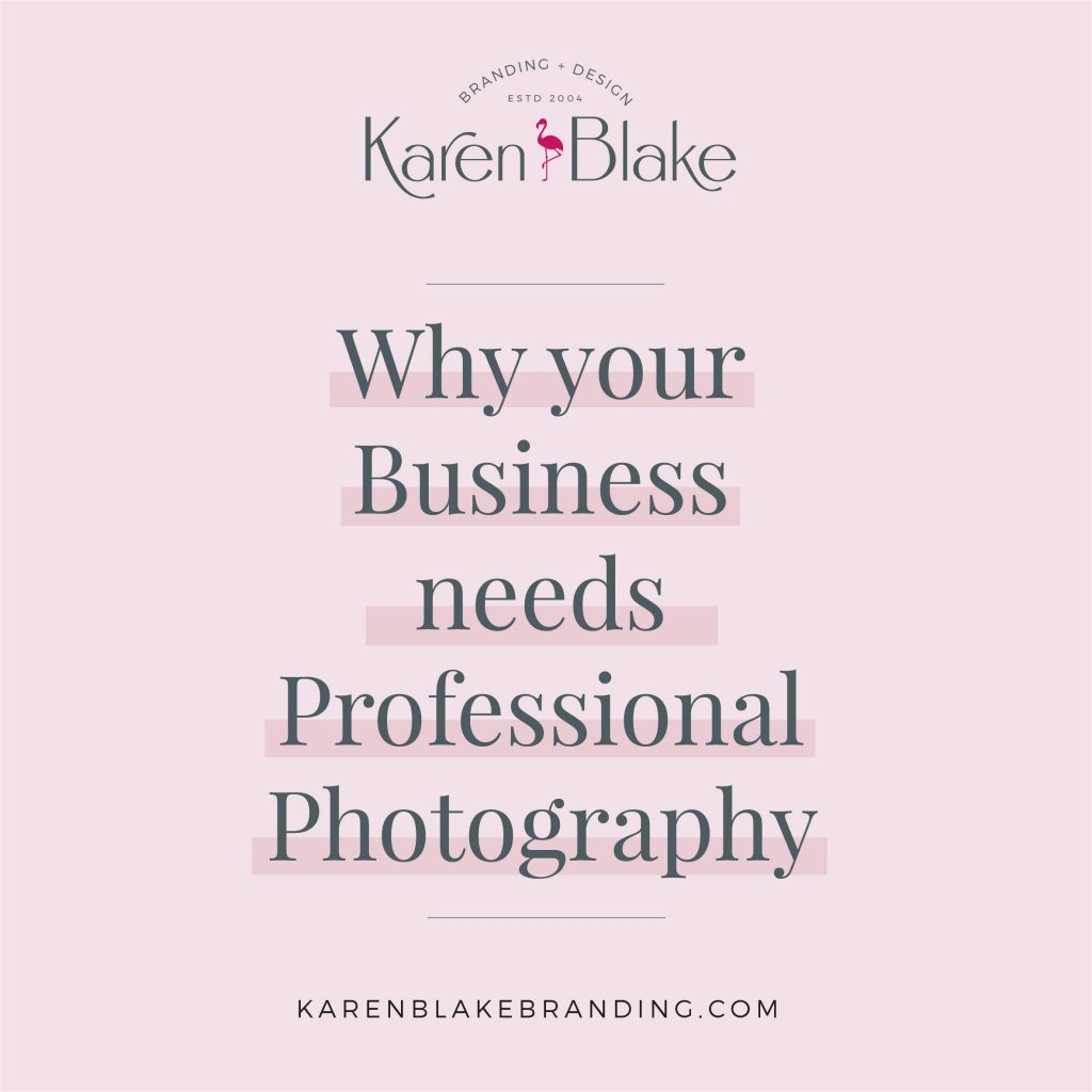 Why your Business needs Professional Photography