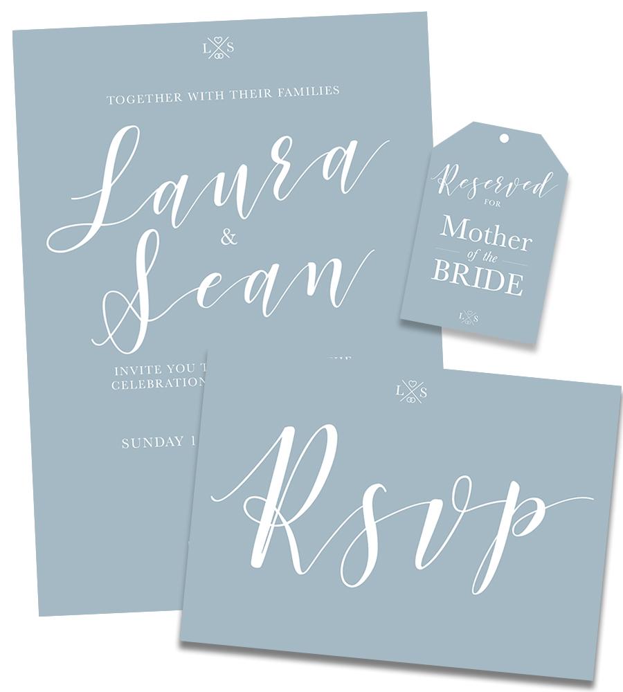 Laura & Sean Wedding Stationery