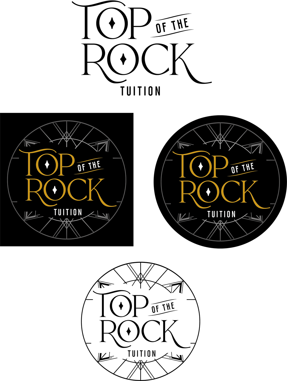Top of the Rock Logo Concepts V3