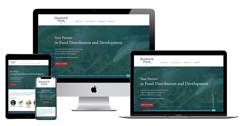 Henwick Park Multi Device Website