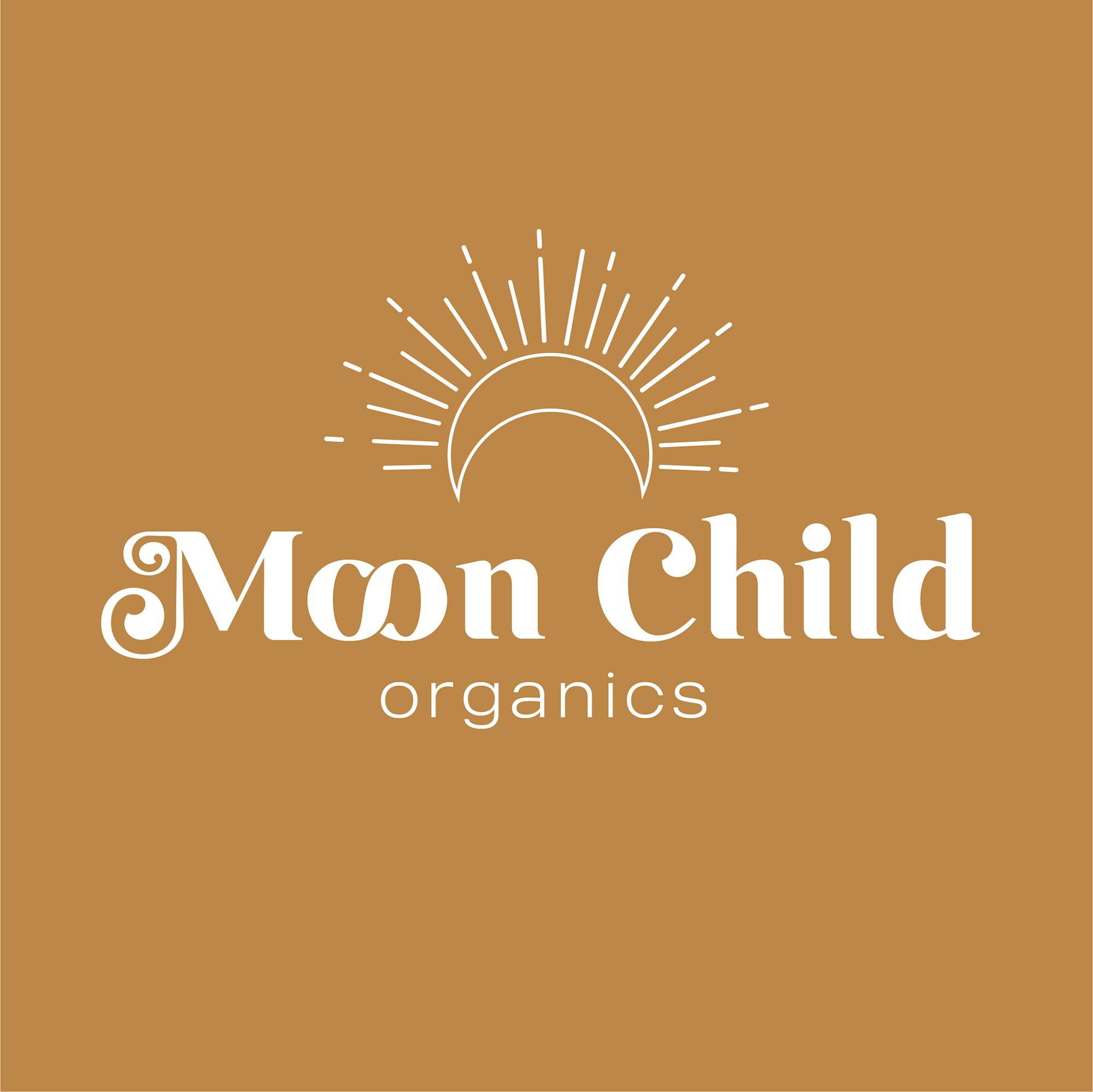 Moon Child Premade Logo