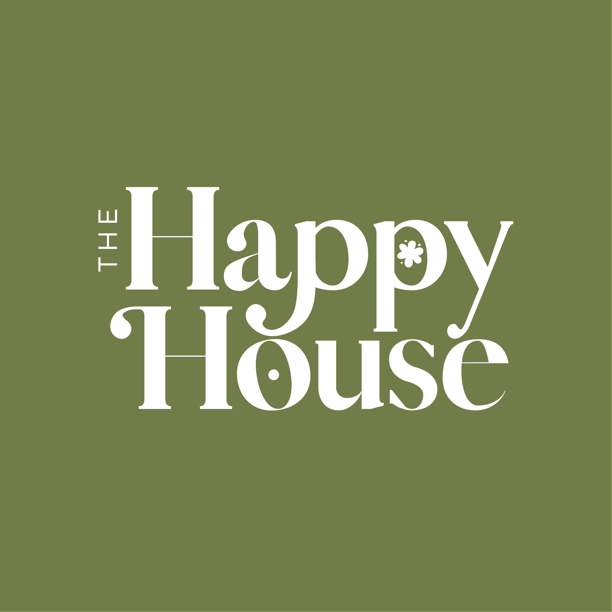 The Happy House Premade Logo