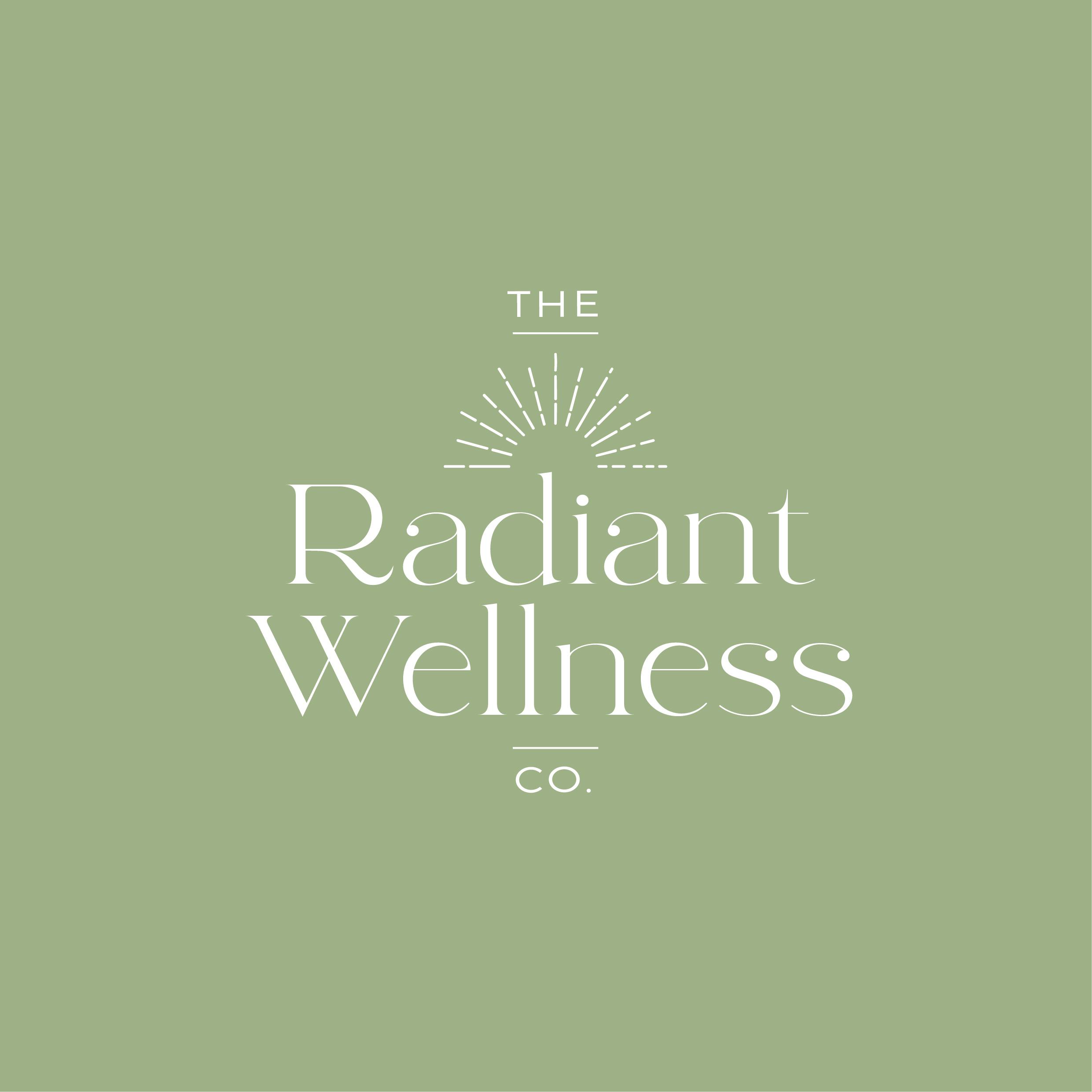 Radiant Wellness Premade Logo