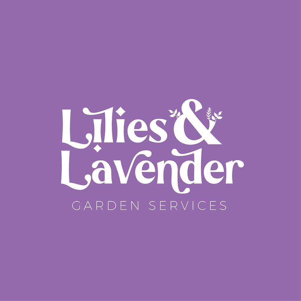 Lilies & Lavender Premade Logo